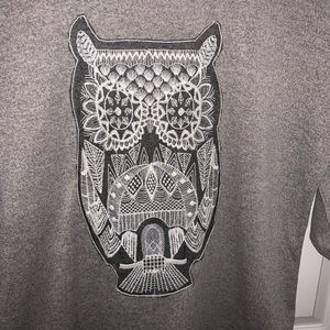 Sweaters - Never worn owl sweater with 3/4 sleeves